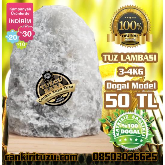 Tuz Lambası Doğal Model 3-4 kg arası